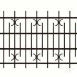 Металлический забор. Сварной, кованный.